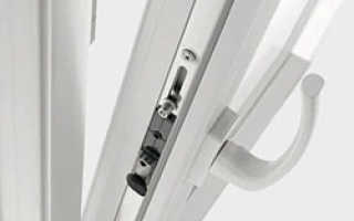 Регулировка балконной двери стеклопакета из ПВХ