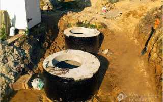 Как гидроизолировать септик из бетонных колец