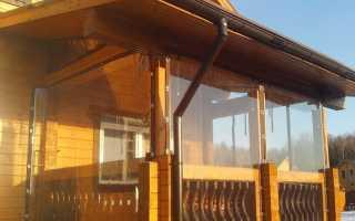 Мягкие окна для веранды рулонные