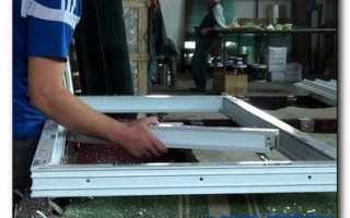 Как изготовить пластиковое окно своими руками