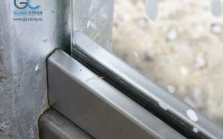 Прижимной профиль для стекла