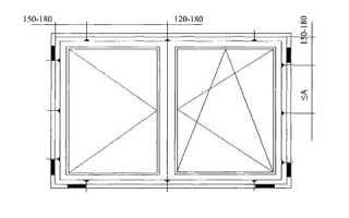 Максимальный размер створки пластикового окна по ГОСТу