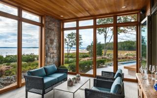 Варианты пластиковых окон для частного дома