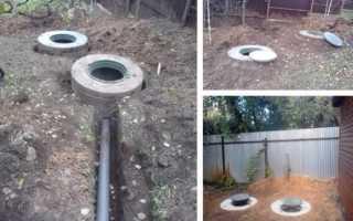 Как углубить септик из бетонных колец