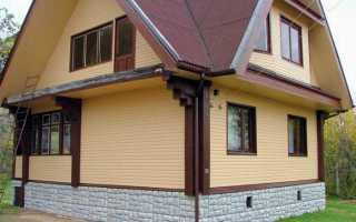 Виды отделки фундамента частного дома