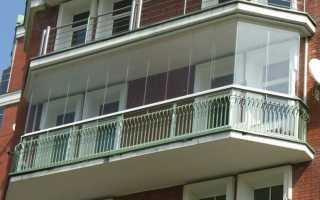 Остекление балконов по финской технологии