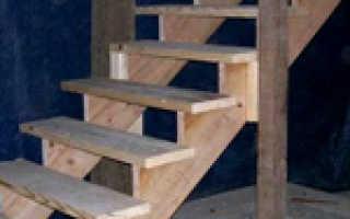 Устройство лестницы в подвал с первого этажа