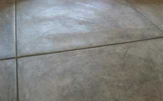 Как железнить бетонную дорожку