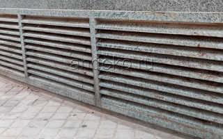 Вентиляционные решетки для цоколя фундамента