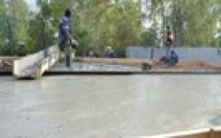 Межэтажное перекрытие из бетона своими руками