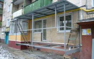 Пристроить балкон на первом этаже документы