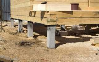 Свайно-забивной фундамент для частного дома