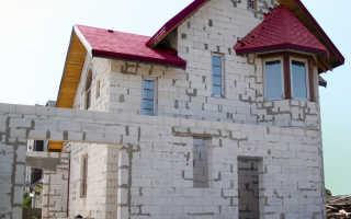 Расчет количества бетонных блоков для строительства дома