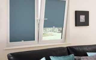 Монтаж рулонных штор на пластиковые окна инструкция