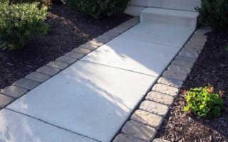 Восстановление бетонного покрытия на улице