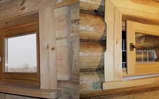 Окно в бане на какой высоте