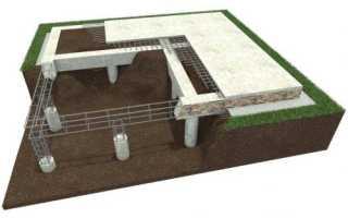 Ремонт свайно-ростверкового фундамента
