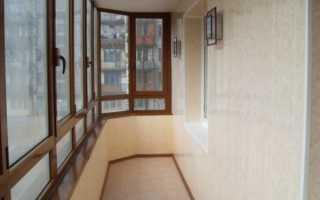 Чем облицевать балкон изнутри