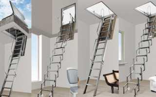 Чердачные люки с выдвижной лестницей