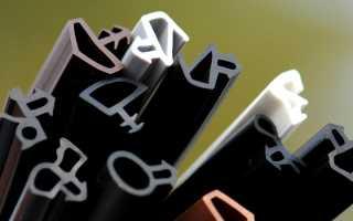 Виды уплотнителей для пластиковых окон