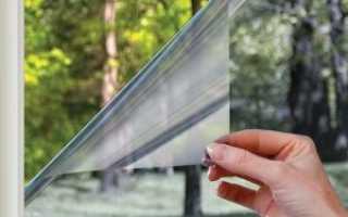 Наклейки на окна вместо занавесок