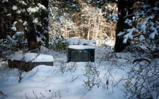 Можно ли хранить телевизор на балконе зимой