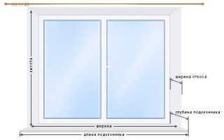 Как замерить горизонтальные жалюзи на пластиковые окна