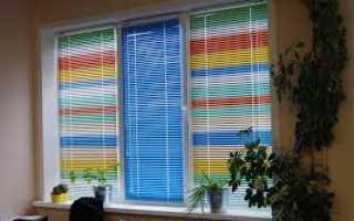Как подобрать цвет жалюзи в комнату