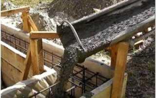 Плитный фундамент на участке с уклоном