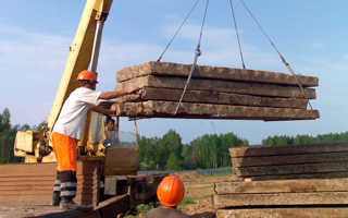 Вывоз бетонных блоков с участка