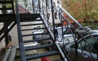 Выбор швеллера для лестницы