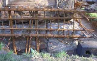 Ремонт ленточного фундамента дачного дома