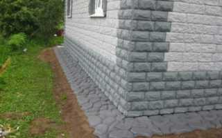 Защита бетонной отмостки от разрушения