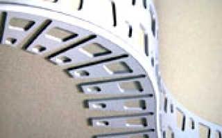 Как крепить арочный уголок к гипсокартону