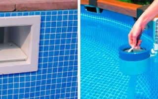 Монтаж скиммера в бетонный бассейн