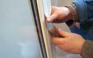 Как разобрать пластиковое окно перед установкой