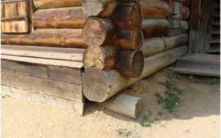 Деревянные сваи для фундамента своими руками