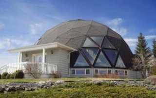 Фундамент под купольный дом