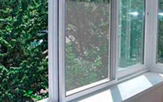 Алюминиевые окна для веранды