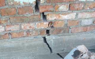 Как поправить фундамент под дачным домом