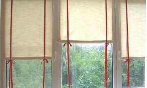 Материал для рулонных штор на пластиковые окна