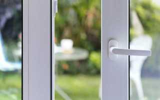 Как снять ручку с пластиковой балконной двери