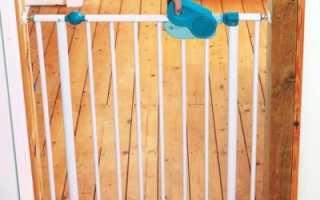 Как закрыть лестницу от ребенка своими руками