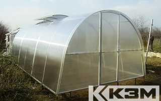 Фундамент для теплицы из поликарбоната на сваях