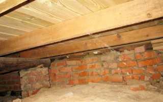 Теплое подполье при ленточном фундаменте
