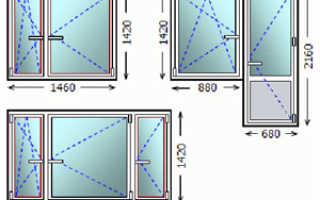 Стандартный размер окна в кирпичном доме