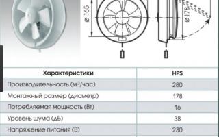 Вентилятор оконный реверсивный приточно вытяжной