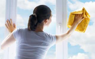 Как отмыть цемент со стекла