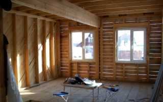 Монтаж пластиковых окон в каркасном доме