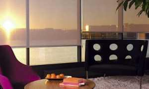 Какие бывают рулонные шторы на пластиковые окна